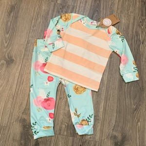 Other - Baby/ toddler girl boutique pajama set